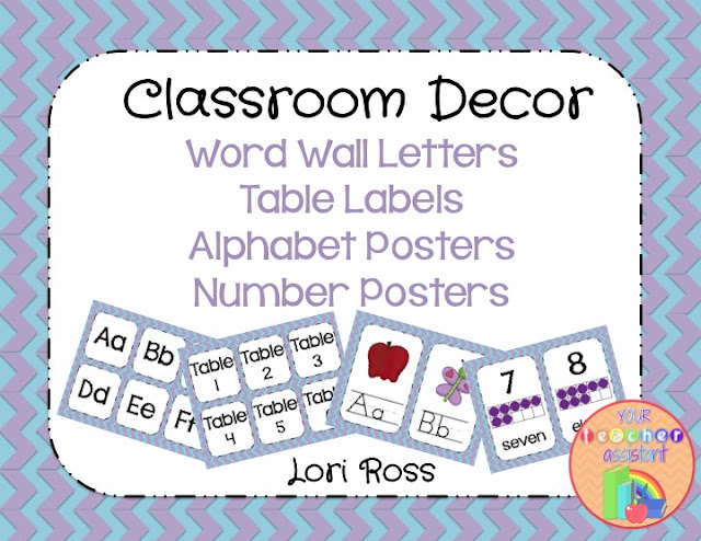 Classroom Decor Packet