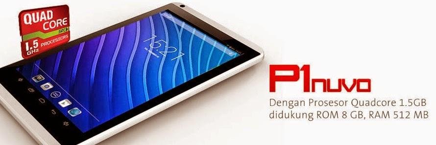 Spesifikasi Smartphone SPC P1 Nuvo