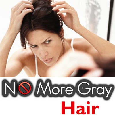 Home remedies to remove white hair on scalp