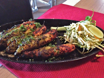 Chicken Chilly Kabab at Kiva Nea