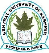 Central University of Kashmir (CUK) Recruitment Notice for Faculty posts Jan-2014
