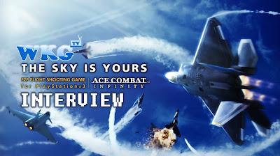 Ace Combat: Infinity - Ace Combat Lead Kono-San Interview