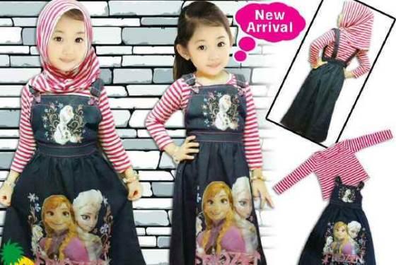 Baju Muslim Anak Umur 4 Tahun yang modis