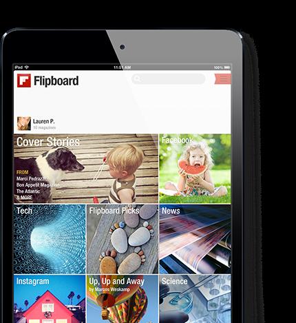 Flipboard now on the Web