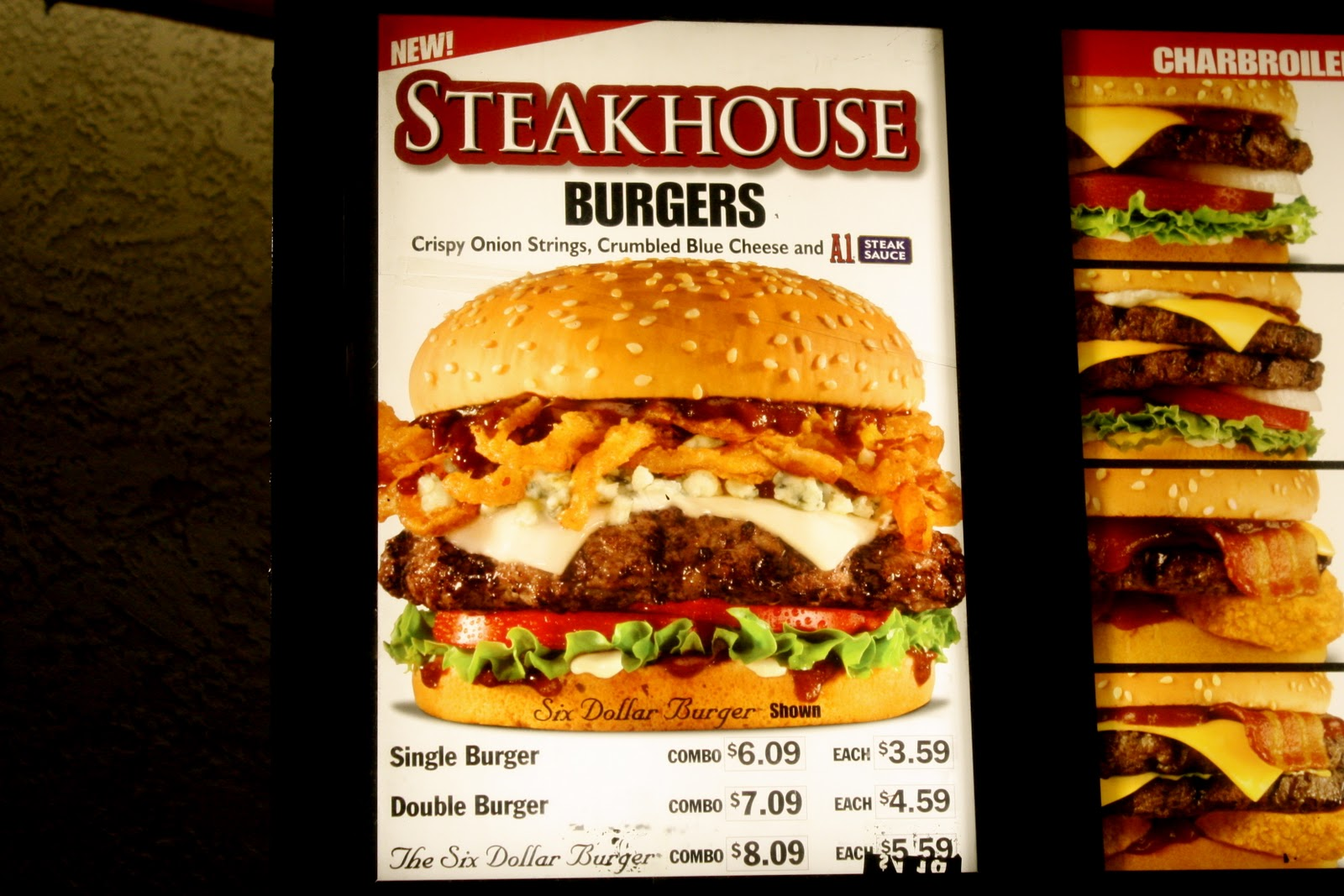 Fast Food Review Carls Jr Steakhouse Burger