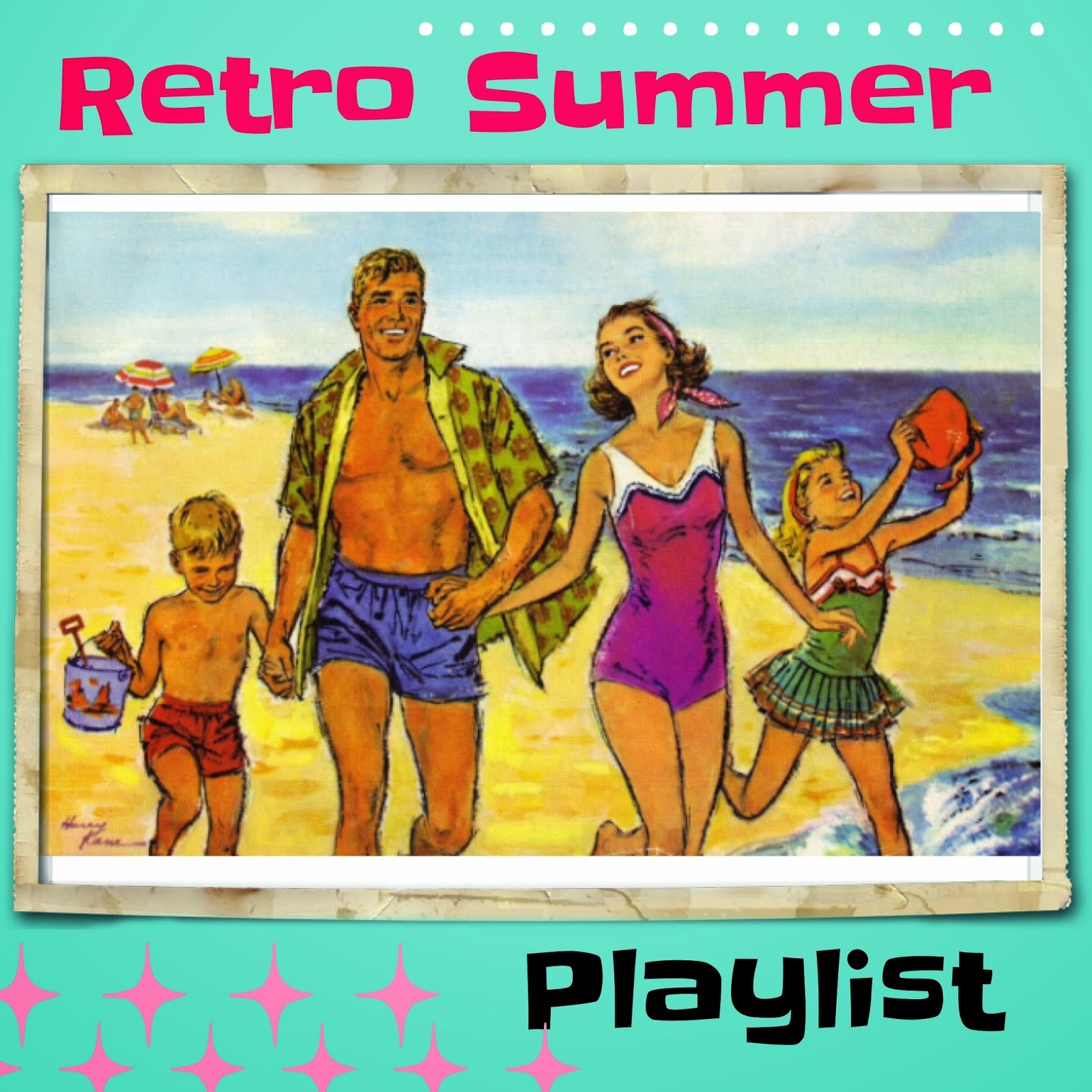Click To Listen to My Retro Summer Playlist