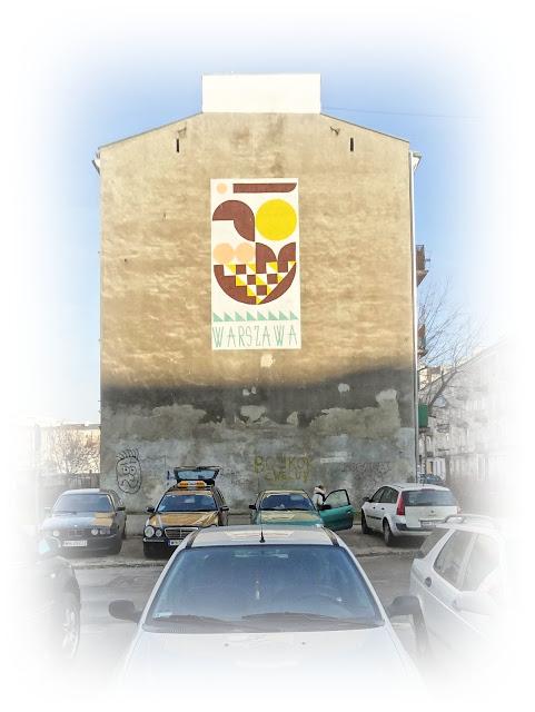 Mural Łochowska Syrenka na Szmulkach