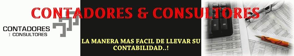 <center>CONTADORES &amp; CONSULTORES</center>