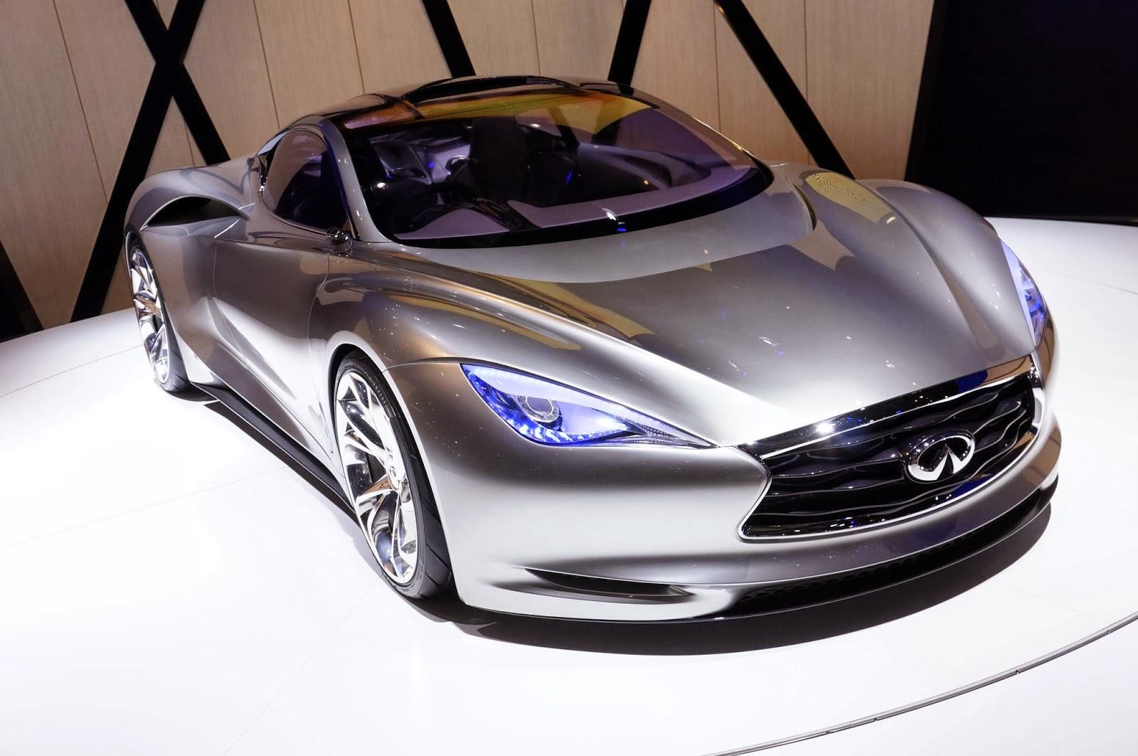 infiniti emerg e looks futuristic 100 electric car mycarzilla. Black Bedroom Furniture Sets. Home Design Ideas
