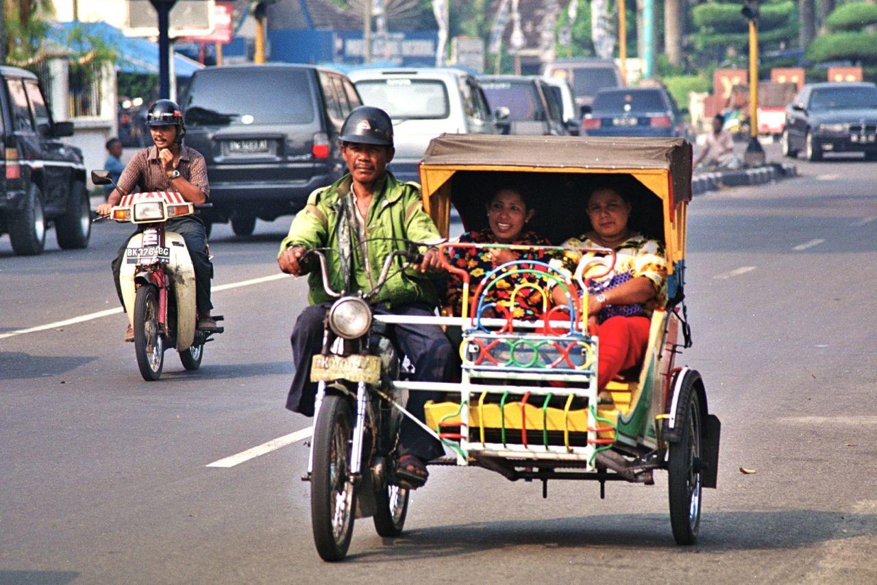Becak Medan