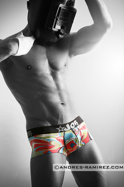 Jaime Abella by Andres Ramirez in JOR boxers
