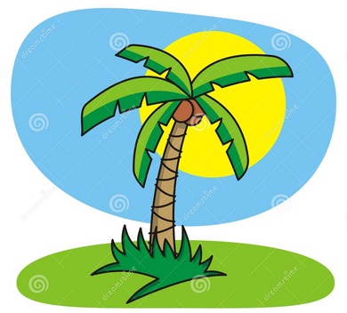 Gambar Pohon Kelapa Kartun Lucu Tree Cartoon Pictures Wallpaper