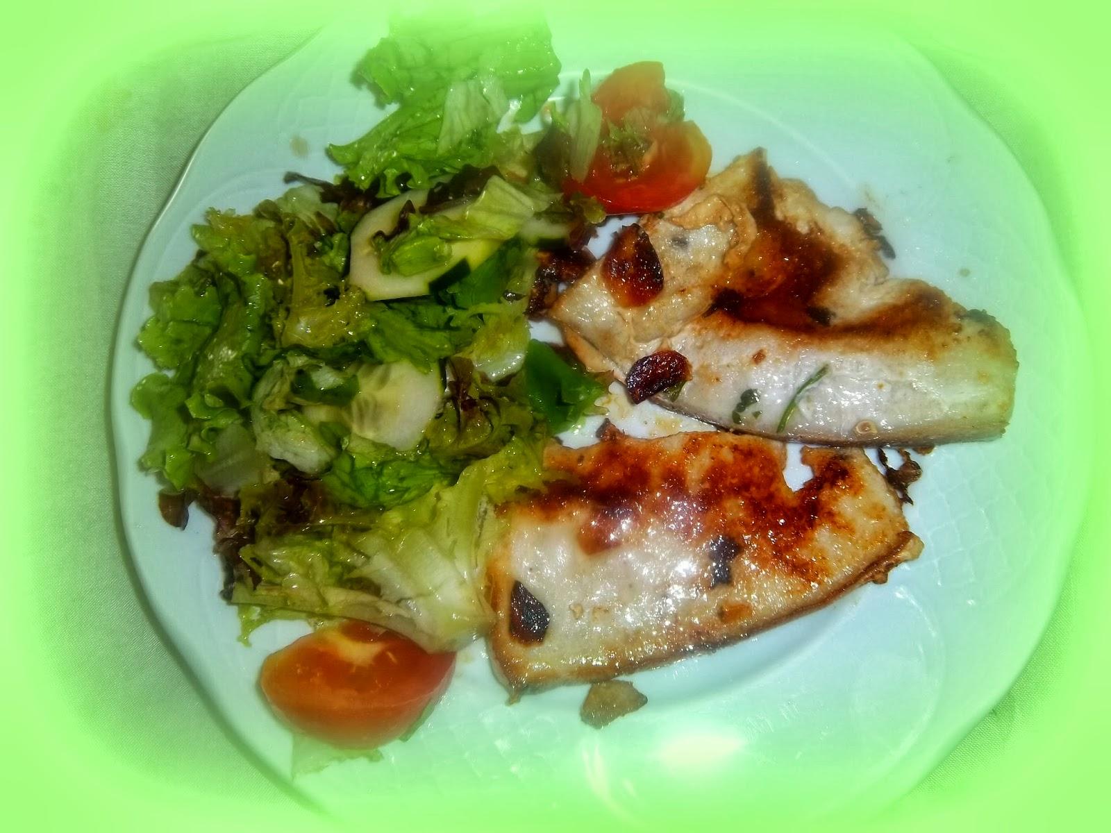 Cocinar con fotos en tres pasos pescados cocochas for Cocinar pez espada