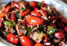 resep masakan indonesia tumis kulit melinjo spesial praktis, mudah, enak, gurih, lezat
