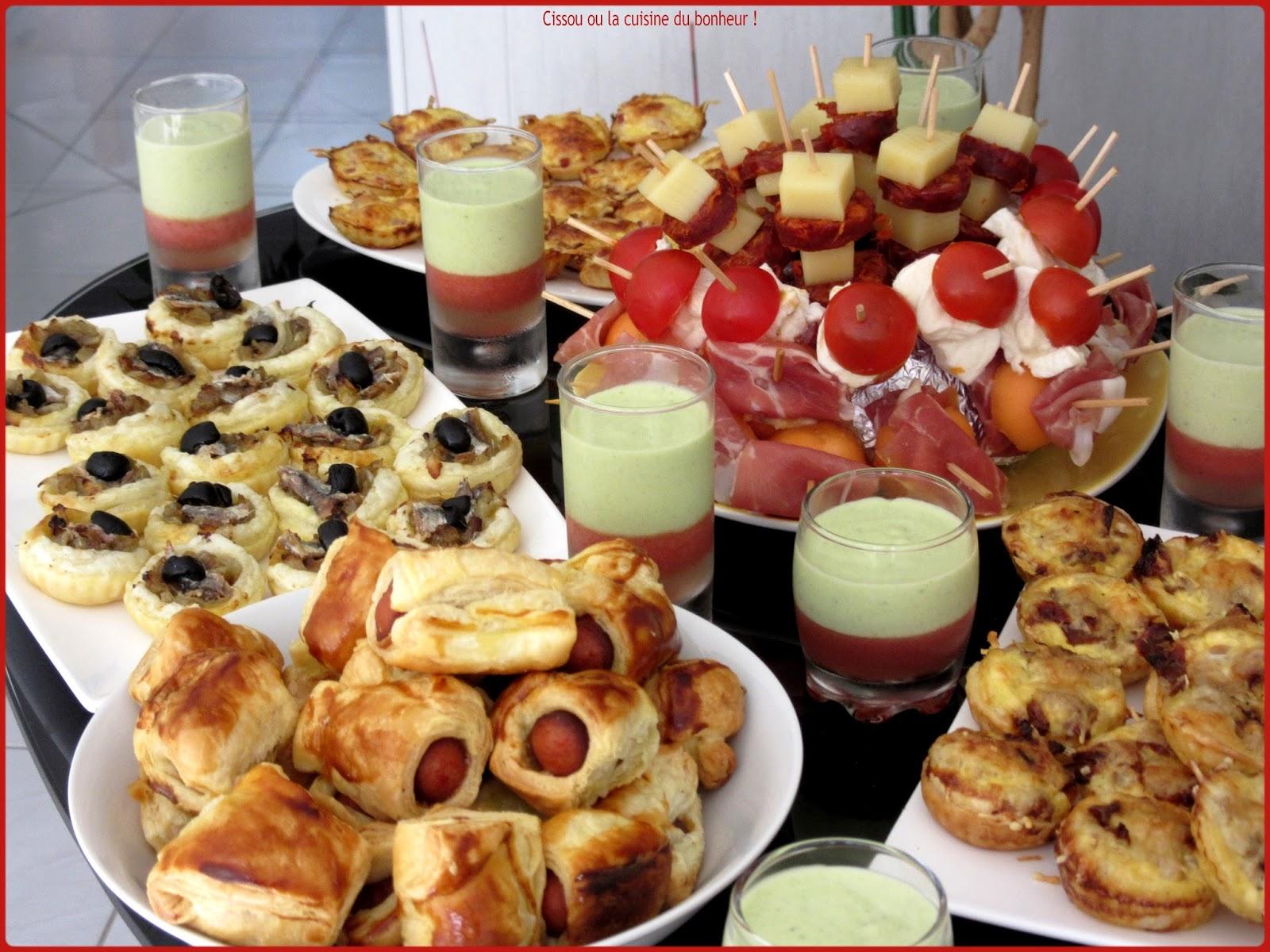 Cissou ou la cuisine du bonheur buffet ap ritif - La cuisine du bonheur thermomix ...