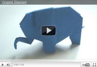 Оригами - Слон