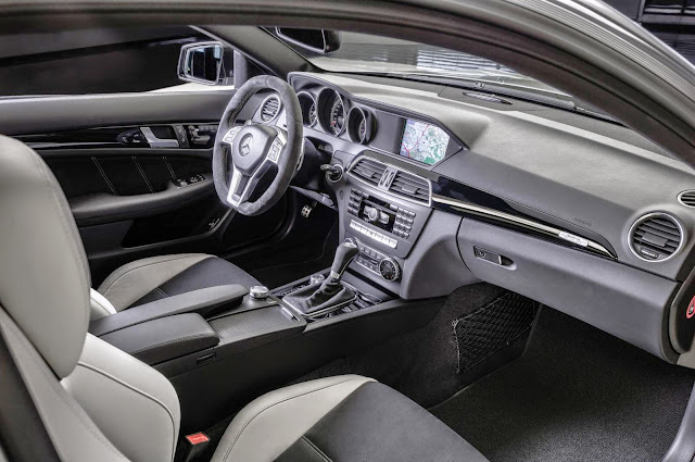 mercedes c edition 507 interior