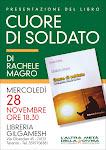 28/11/12 h18.30 PRESENTAZIONE LIBRO 'CUORE DI SOLDATO' DI RACHELE MAGRO