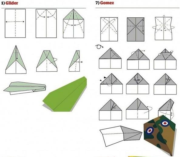 Que hacer 191 como hacer aviones de papel