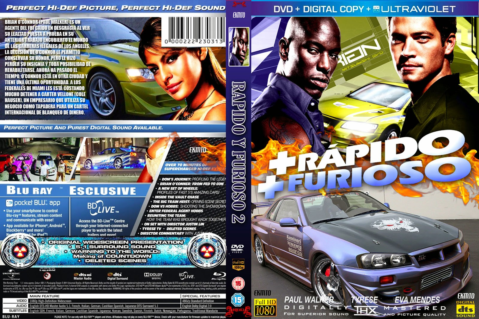 Cdcoverscc  Search  DVD  2 fast 2 furious