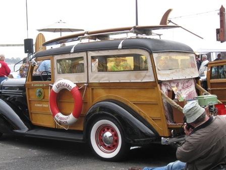 Woodies on the Wharf Santa Cruz CA 2011 & Fun Tour Guru Goes Off the Beaten Path: Woodies are Stars along ...