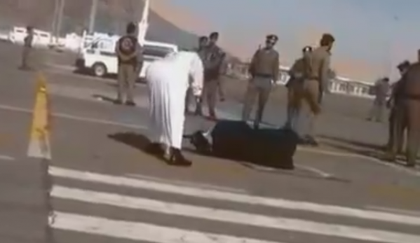 Public execution in Saudi Arabia