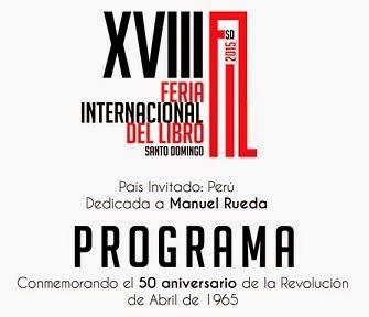 Programa completo Feria del Libro 2015