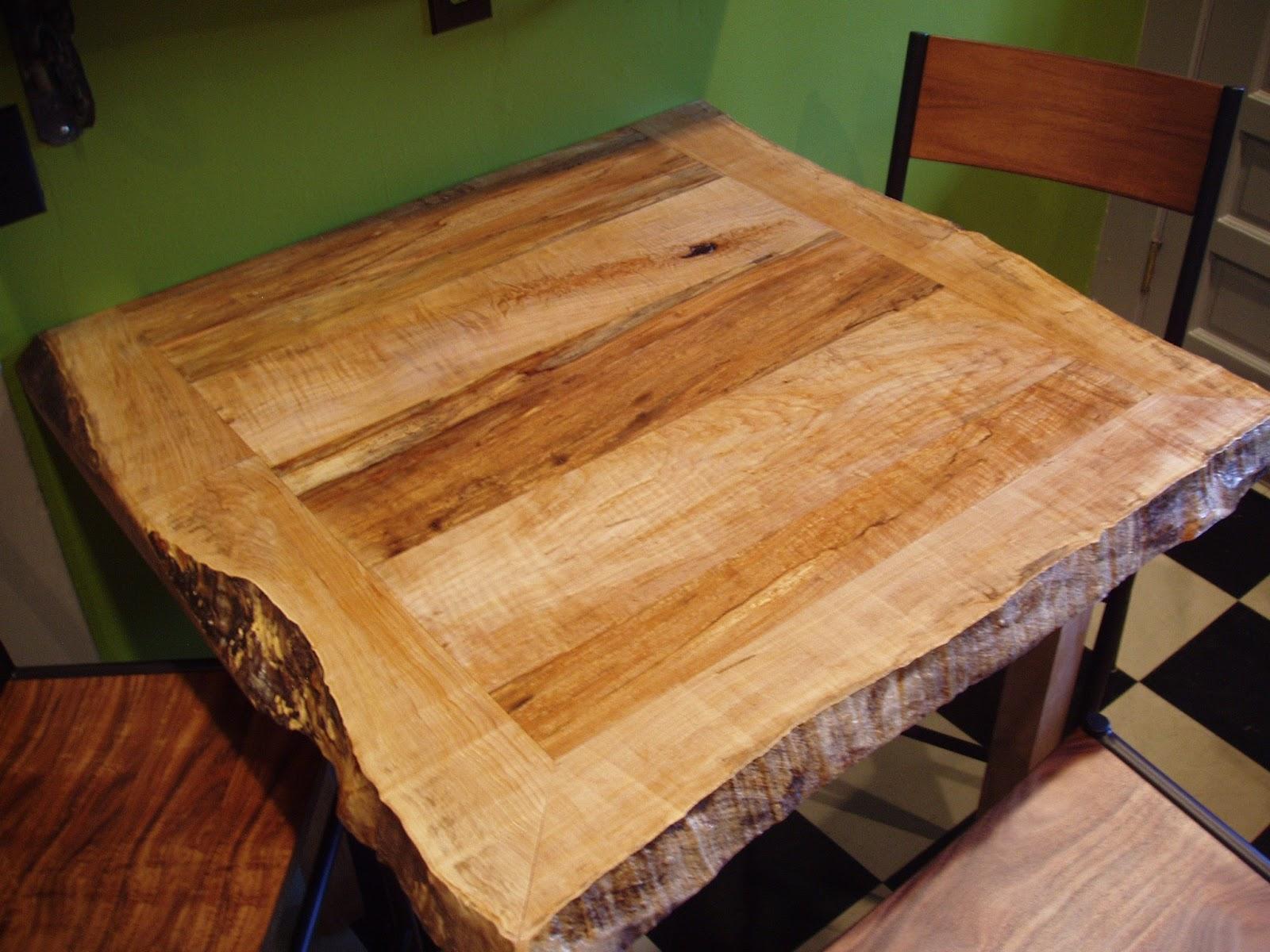 live edge kitchen table
