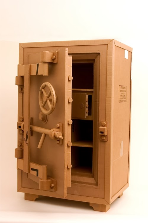 14-Strongbox-Life-Size-Chris-Gilmour-Cardboard-Sculptures-www-designstack-co