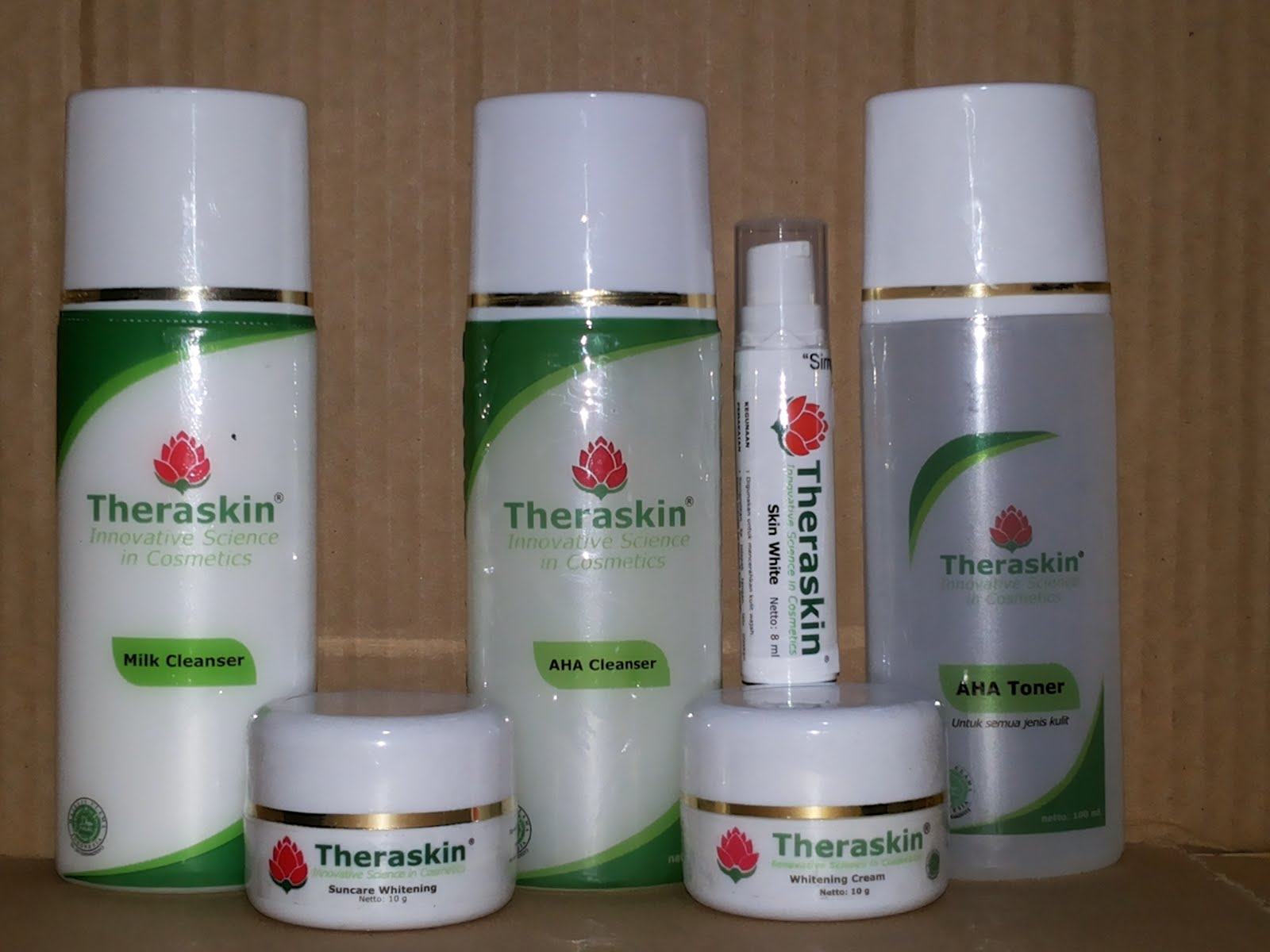 PAKET WHITENING THERASKIN+SERUM
