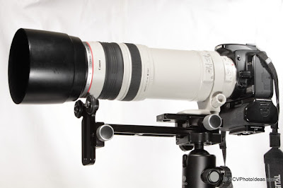 Versatile Long Lens Support Bracket - side overview