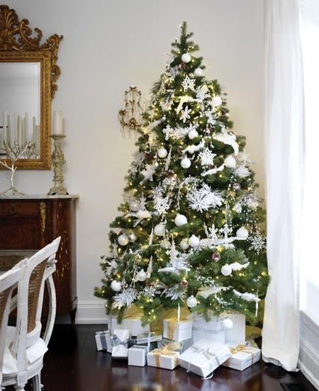Eternamente mia rboles de navidad - Arboles navidad blancos ...