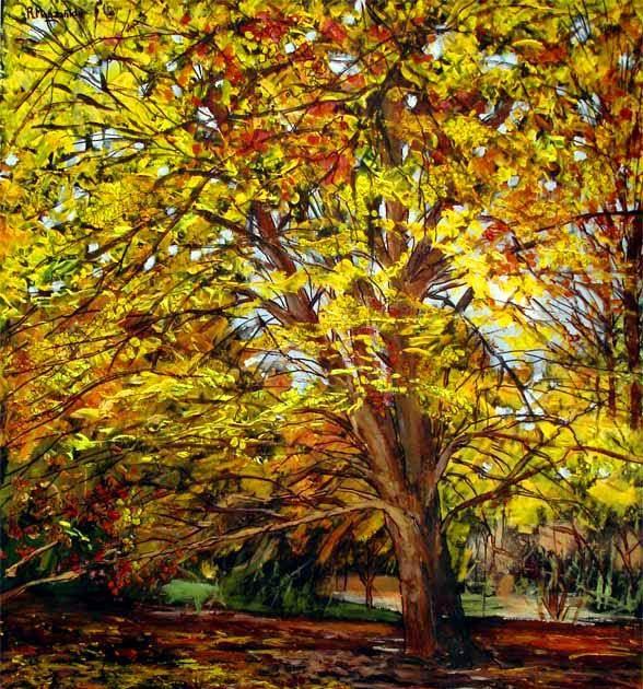 Pinturas cuadros lienzos al leo paisajes y flores - Acrilico sobre lienzo ...