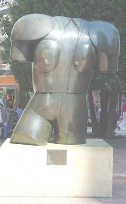 Oviedo, escultura El diestro