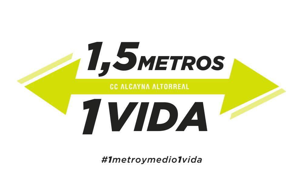 Campaña #1metroymedio1vida