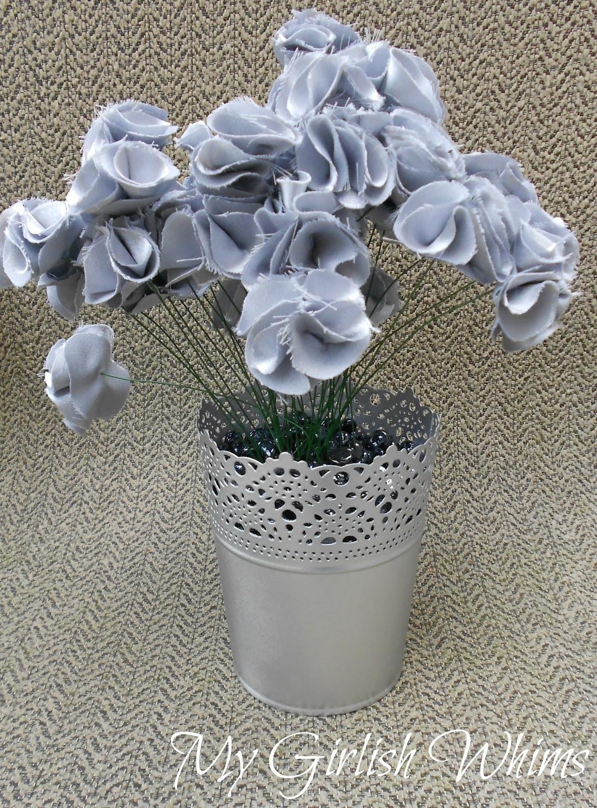 Diy fabric flower bouquet my girlish whims east coast creative blog izmirmasajfo