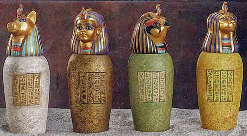 Canopic Jars 3