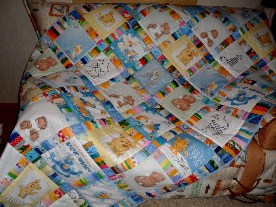 Как сшить детские одеялки 87