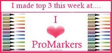 Yes! I was Top 3 over at I heart ProMarkers