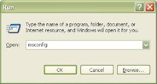 Mempercepat Start Up Windows