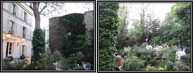 Hotel Particulier, Paris Montmartre jardin