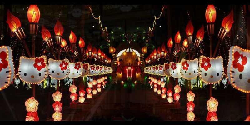 Keajaiban Taman Pelangi Yogyakarta