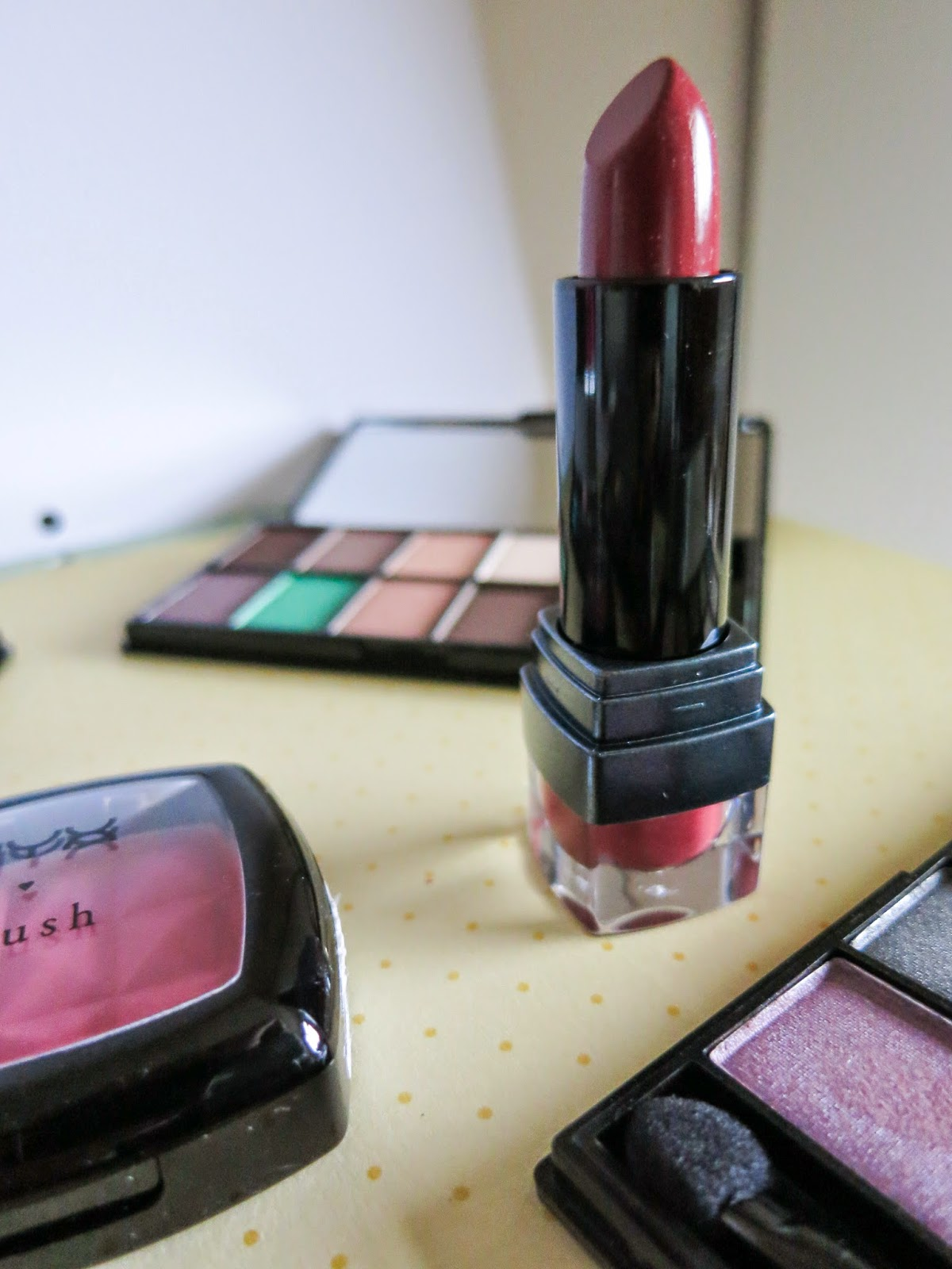 NYX black label lipstick Mahogany