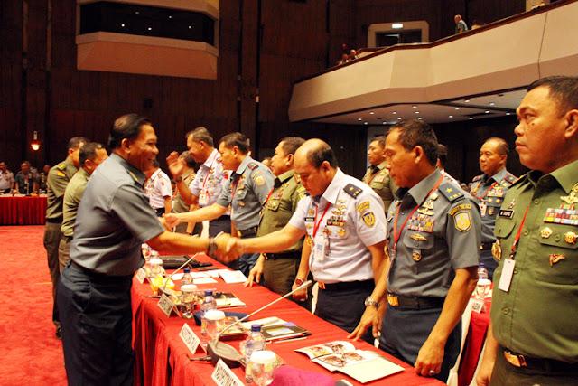 Kepala Staf Umum TNI Buka Rakorter TNI tahun 2016