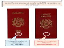 klik imej paspot tok cek perlu visa atau tak
