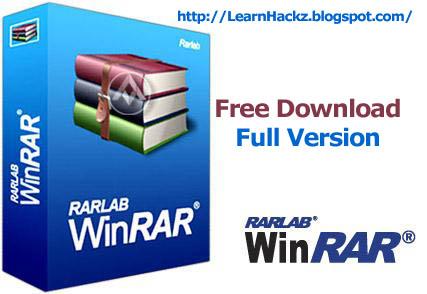 winRAR Free Download Full Version Windows 7