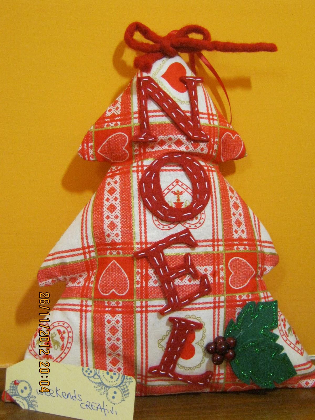 spesso Week- ends CREAtivi: Decorazioni natalizie..Alberelli di Natale di  HK68