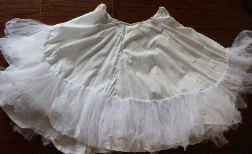 Сшить юбку фатиновую пышную