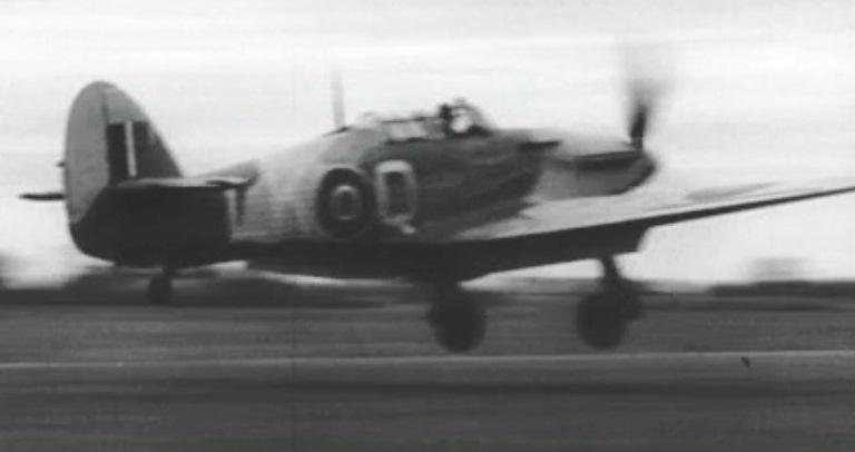 No. 87 Squadron Hurricane LK-Q