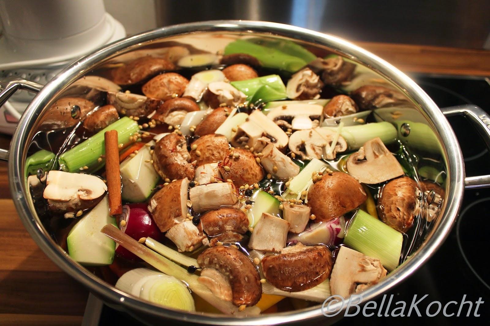 Asiatischer Gemüsefond
